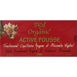 SRY Organic Active Pousse hair treatment Argan and Natural Placenta