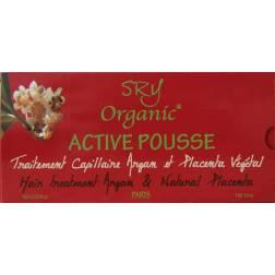 SRY Organic Active Pousse traitement capillaire Argan et placenta végétal