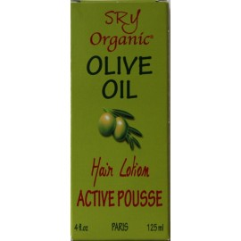 SRY Organic Olive Oil Active Pousse lotion capillaire
