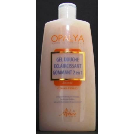 Opalya exfoliating and lightening shower gel 2 in 1