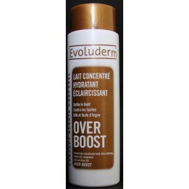 Evoluderm lait concentré hydratant éclaircissant OVER BOOST