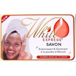 White Express savon éclaircissant et gommant