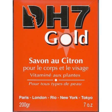 DH7 Gold Savon au citron pour le corps et le visage