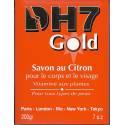DH7 Gold Savon au citron et aux plantes pour le corps et le visage