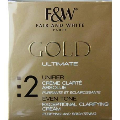Fair&White gold crème clarté absolue
