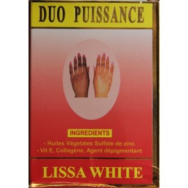 Lissa White Duo puissance