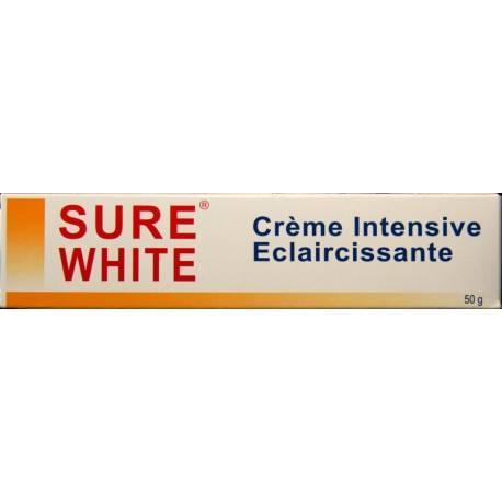 Sure White crème intensive éclaircissante