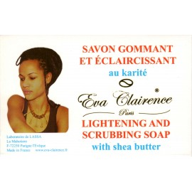 Eva Clairence lightening and scrubbing soap