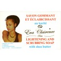 Eva Clairence lightening and scrubbing soap with shea butter