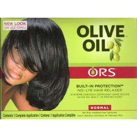 ORGANIC ROOT Stimulator Olive Oil Built-In Protection™ No-Lye Hair Relaxer