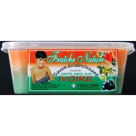 Fraîche Nature Lightening soap Ivoire