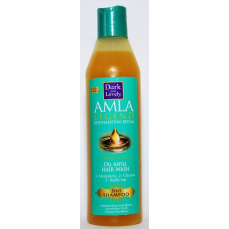 Dark and Lovely Amla Legend shampooing neutralisant nourrissant 3en1