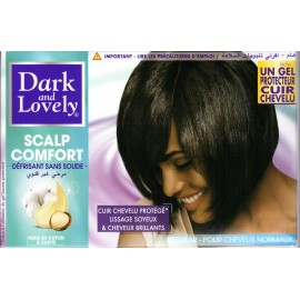 Dark and Lovely Scalp Comfort no-lye relaxer