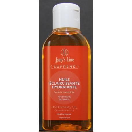 jany's line supreme huile éclaircissante hydratante