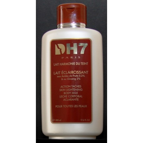 DH7 lait harmonie du teint