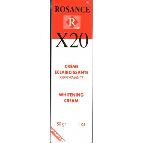 Rosance X20 whitening cream
