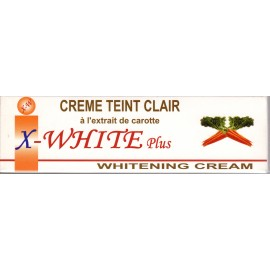 X-White Plus whitening cream Teint Clair - tube