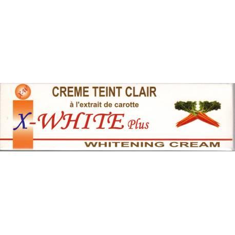 X-White Plus whitening cream Teint Clair - tube
