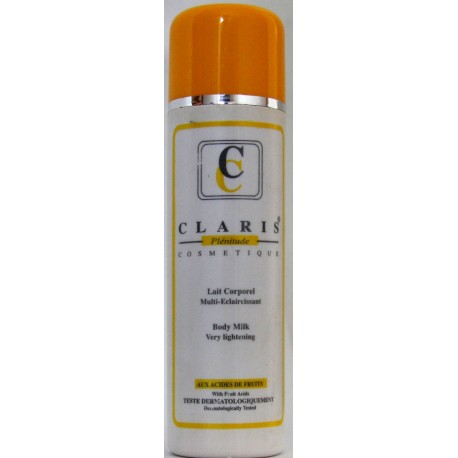 Claris lightening body milk