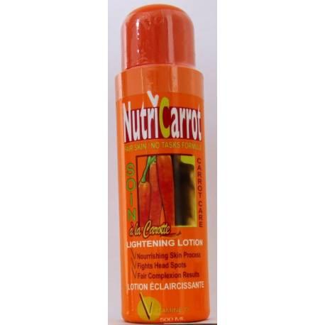 Nutricarrot lotion éclaircissante à la carotte
