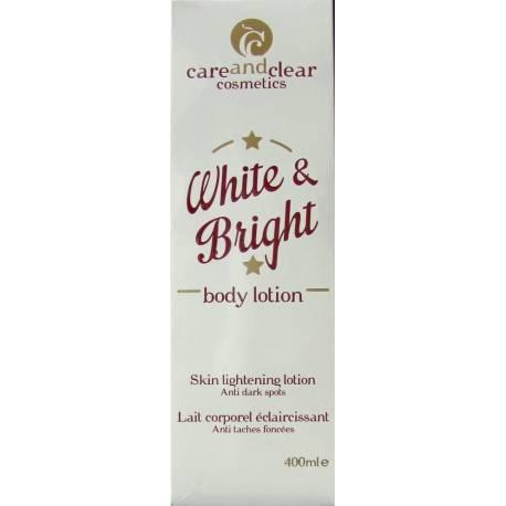 careandclear White and Bright lait corporel éclaircissant