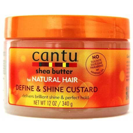 cantu shea butter natural hair define and shine custard