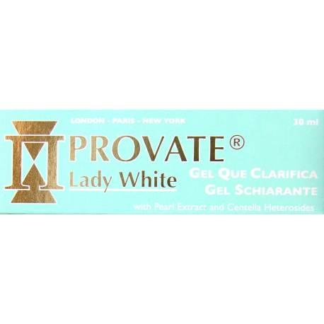 provate lady white gel que clarifica