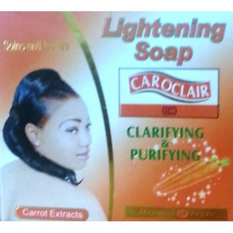 caroclaire lightening soap