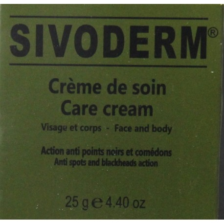 sivoderm crème de soin
