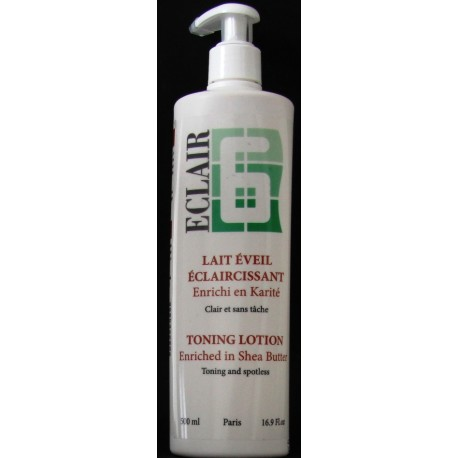 eclaire toning lotion