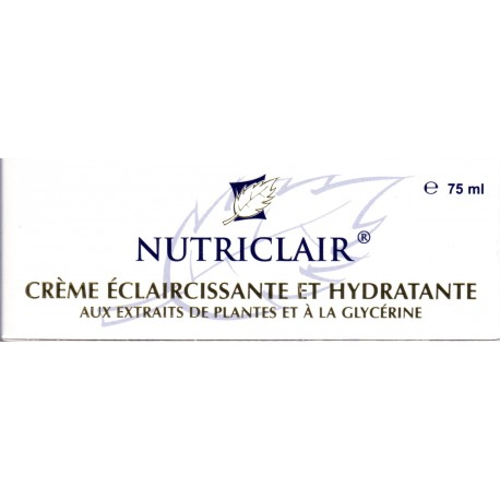 nutriclair cream lightening