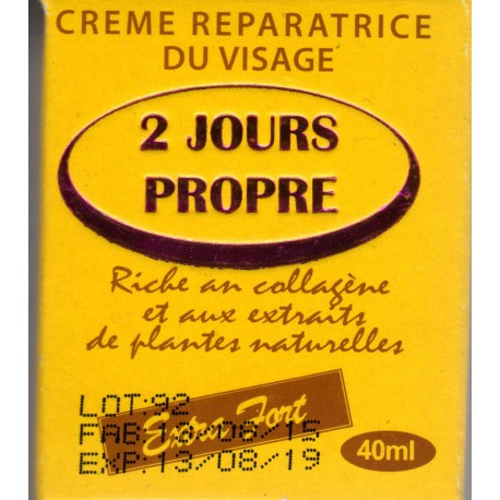 2 jours propre face reparing cream