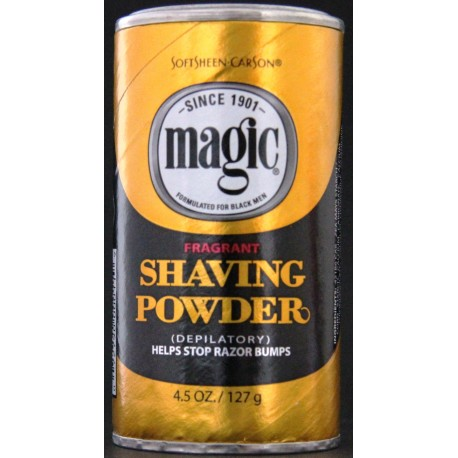 Magic Fragrant shaving powder (gold box)