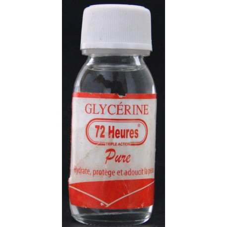 72 Heures Glycérine pure
