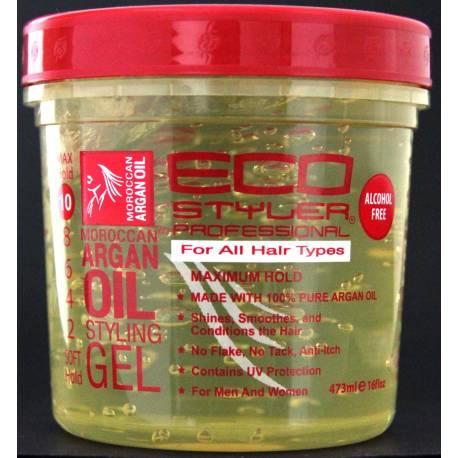 Ecostyler moroccan argan oil styling gel
