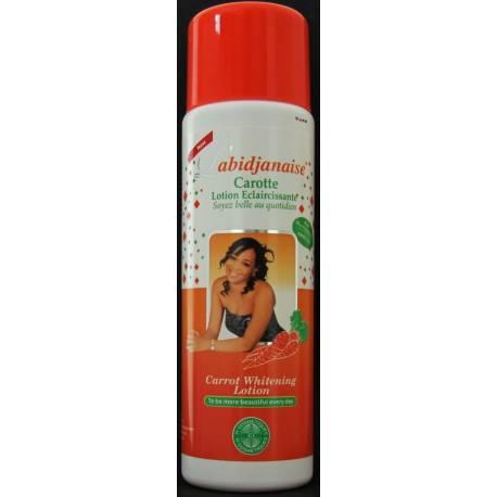 L'Abidjanaise Carrot whitening lotion