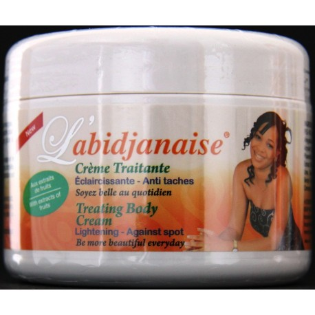 L'Abidjanaise treating body cream - jar