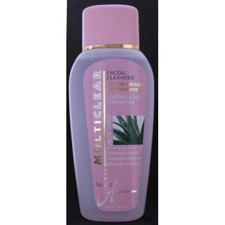 Multiclear facial cleanser