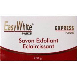Easy White express exfoliating lightening soap