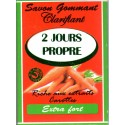 2 jours propre exfoliating and clarifying soap - carrot