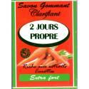 2 Jours Propre savon gommant clarifiant - carotte