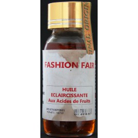 Fashion Fair lightening oil with fruits acids