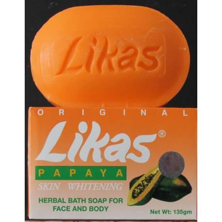 Likas papaya skin whitening herbal soap - Grade A