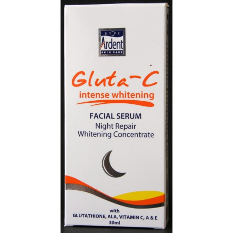 Gluta-C Intense Whitening Facial serum Night Repair - Sérum de nuit