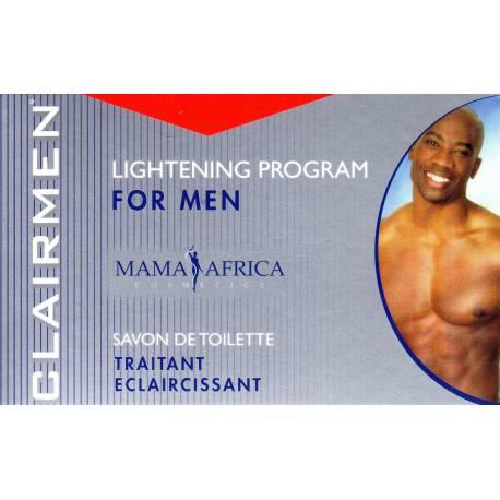 Clairmen Mama Africa savon traitant éclaircissant pour homme
