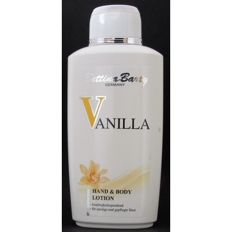Bettina Barty Vanilla hand and body lotion