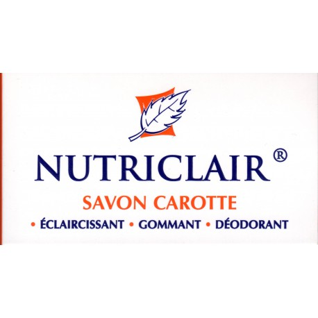 Nutriclair carrot soap