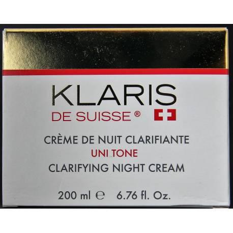Klaris de Suisse clarifying night cream