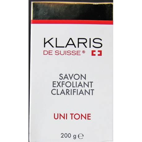 Klaris de Suisse savon exfoliant clarifiant