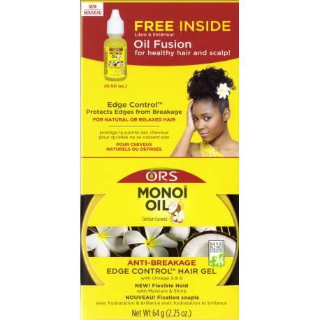 ORS Monoï oil anti-breakage edge control hair gel - gel pour les cheveux